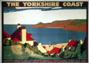 The Yorkshire Coast. London North Eastern Region (LNER) Vintage Travel Poster by Andrew Johnson. 1932